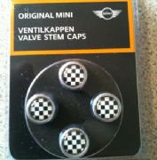 Valve caps (union jack or chequered)